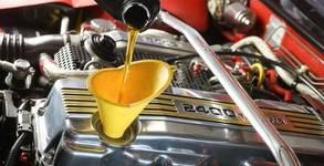 4 литра моторно масло по избор, плюс смяна и маслен филтър