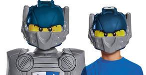 Детска маска на рицаря Клей - Lego Nexo Knights