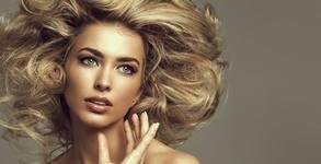 За косата! Терапия и подстригване или балеаж, плюс оформяне
