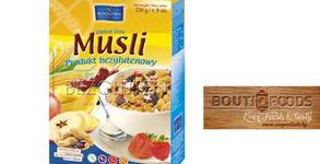 Безглутенови продукти! Тостерен хляб, мюсли или черен самун