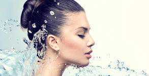 Диамантено микродермабразио на лице, шия и деколте, плюс ензимен пилинг, кислороден серум и маска