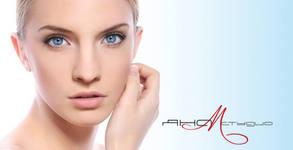 RF лифтинг на лице и шия, anti-age терапия на околоочен контур или масаж на лице с ампула и хидратираща маска
