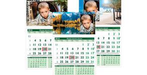 Календар със снимка или дизайн по избор