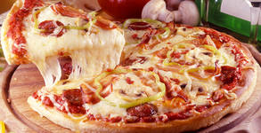 Двоен пилешки бургер, дюнер XL или голяма пица Вълча
