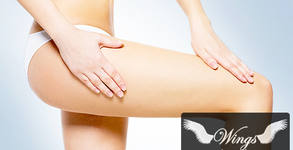 90-минутен антицелулитен масаж на цяло тяло - ръчен и с вендузи
