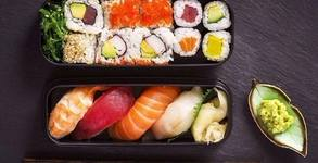 Суши сет с 36, 56 или 76 хапки