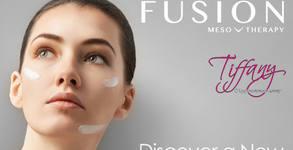 Безиглена мезотерапия на лице с хиалурон, плюс хидратираща маска с козметика Fusion-Spain