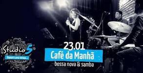 Концерт на Café da Manhã - на 23 Януари
