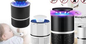 Уред срещу комари и насекоми с LED осветление - за ползване на открито и закрито