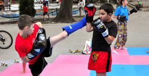 5 тренировки по кикбокс за дете на 6 - 12г