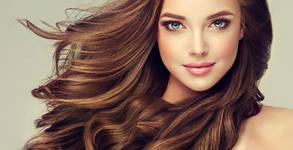 Възстановяваща терапия против косопад и оформяне с четка и сешоар - без или със подстригване