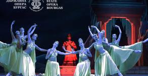"""Балетният спектакъл """"Баядерка"""" по музика на Лудвиг Минкус - на 30 Март"""