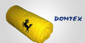 Бебешка хавлиена кърпа с качулка от 100% памук, в жълт цвят