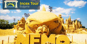 Посети Фестивала на пясъчните фигури! Еднодневна екскурзия до Акве Калиде, Бургас и Бяла на 5.08
