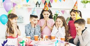 1 час фотозаснемане на детско парти или рожден ден