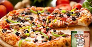 Салата и пица, по избор