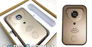 Wi-Fi IP камера видеодомофон с батерия