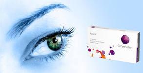 2 броя едномесечни контактни лещи Avaira, плюс разтвор MonoPink - с включена доставка
