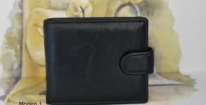 Стилен подарък! Мъжко портмоне от естествена кожа - цвят и модел по избор