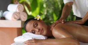 Имуностимулиращ масаж на гръб, масажна яка и поясно-кръстов дял, плюс апликация с поморийска луга