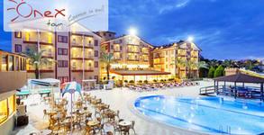 Посети Турция през 2020г! 7 нощувки на база All Inclusive в Хотел Hane Sun 5*, плюс самолетен транспорт