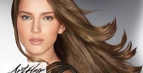 """Терапия за коса Power mix на L""""Oréal, плюс оформяне със сешоар или плитка"""