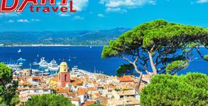 Докосни се до чара на Френската Ривиера! Екскурзия до Ница и Кан с 3 нощувки със закуски, плюс самолетен транспорт