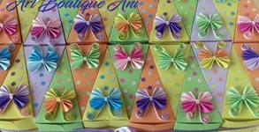 Картонена торта с декорация - 12 или 24 парчета