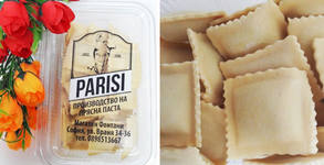Сурова прясна паста за вкъщи! 500гр равиоли по оригинална италианска рецепта