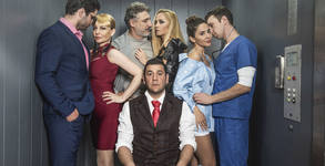 """Лудата комедия """"Направо от асансьора"""" със Стефания Колева и Евгени Будинов - на 24 Октомври"""