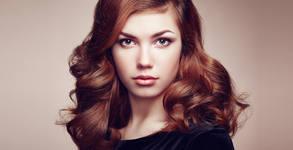 Кератинова терапия за коса или боядисване, плюс оформяне