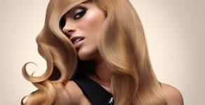 Реконструираща терапия на коса с инфраред преса и масло със серамиди, плюс оформяне със сешоар