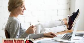 Онлайн курс по английски език - ниво А1, А2 и В1