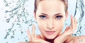Водно дермабразио на лице, плюс ексфолиране, йонофореза и RF лифтинг