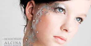 Диамантена алготерапия със сребро и охлаждане на лице с немска козметика Alcina