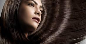 Ламиниране на коса с арганова терапия, плюс подстригване и оформяне със сешоар