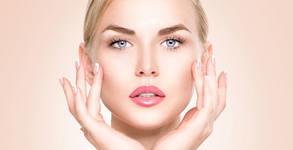 Диамантено микродермабразио на лице, плюс лек химически пилинг