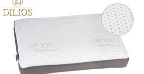 Възглавница от мемори пяна със сребърни нишки