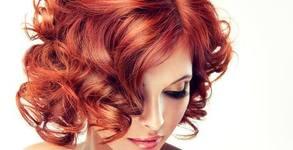 Боядисване на коса и изправяне със сешоар