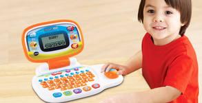 Детска играчка с немско качество от Vtech! Образователен лаптоп на английски език