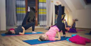 4 посещения на йога-рейки, ин йога или пилатес
