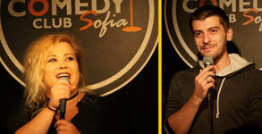 Stand Up comedy вечер със Сашо Деянски и Петя Кюпова на 14 Ноември