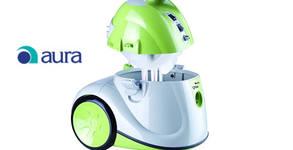 Иновативна прахосмукачка за сухо и мокро почистване Aura QVac