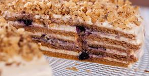 Френска селска торта с 16 парчета