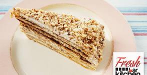 Вкусна торта по избор - Бисквитена, Линдт или Френска селска