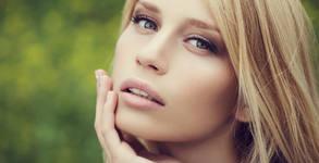 BB Glow процедура за изравняване на тена на лицето, диамантено микродермабразио и златна маска
