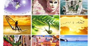 Луксозен календар - без или със послание или рекламно каре по избор
