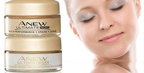 Комплект дневен и нощен крем за лице Anew Ultimate mini