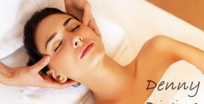 Подари 150 минути релакс! Масаж на цяло тяло и точкова терапия на ходила, плюс терапия и масаж на лице, шия и деколте