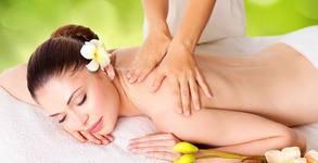 Масаж по избор - на гръб или цяло тяло, или на лице с пчелен восък, маслиново масло и витамин Е